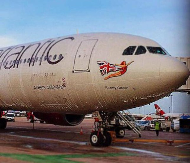Virgin Atlantic plane Beauty Queen grounded at Manchester