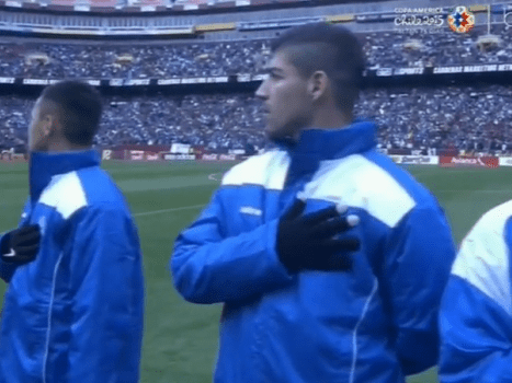 El Salvador players get angry as national anthem replaced with Isle of Man's in bizarre mix-up