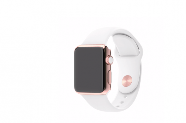 The Apple watch will be released in April Picture: Apple)