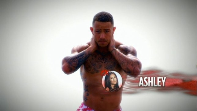 Ashley Cain Ex On The Beach (Picture: MTV)