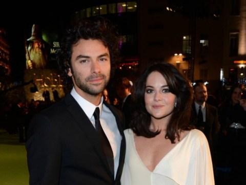 Poldark hunk Aidan Turner 'secretly engaged to girlfriend Sarah Greene'