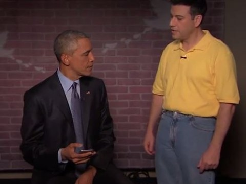 This is what happened when Barack Obama read out really mean tweets about himself on live TV