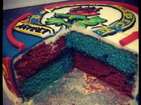 Worst birthday cake ever? Blackburn Rovers fan gets nasty surprise as sponge is the colours of rivals Burnley