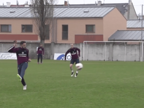 Liverpool and Man Utd target Danny Ings scores stunning goal in training