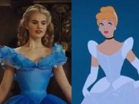 The trailer for Disney's new Cinderella movie is exactly the same as the trailer for the animated version