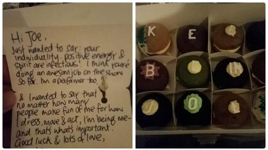 Lorde shows support for 'bullied' X Factor hopeful Joe Irvine by sending him cupcakes