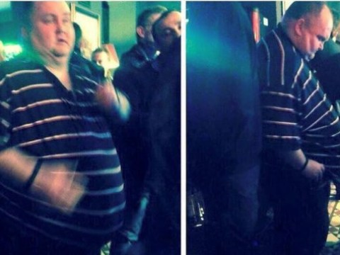 Dancing Man is in LA for his party, and it's kicked off by Meghan Trainor