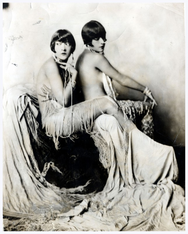 The Dolly Sisters, Jenny Dolly (died 1941) and Rosie Dolly (died