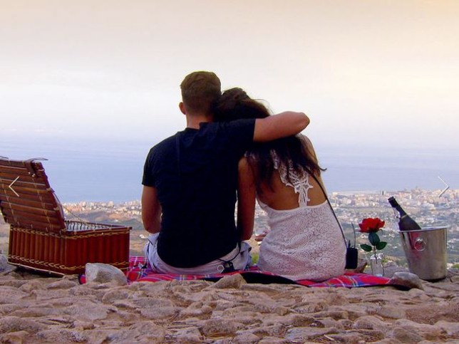 Ex On The Beach Gaz and Anita