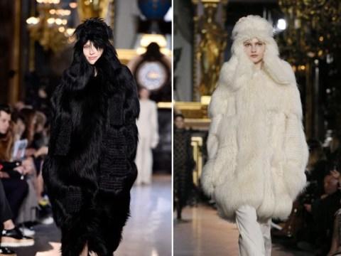 Stella McCartney debuts her 'fur-free fur' at Paris Fashion Week