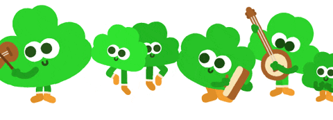 St. Patrick's day 2015: Google Doodle celebrates holiday with shamrocks playing fiddles