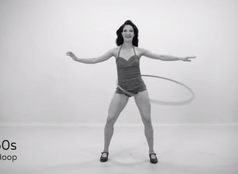 Woman creates incredible video of 100 years of fitness