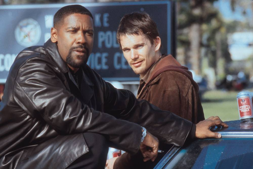 Traning Day bros Ethan Hawke and Denzel Washington set to reunite for a remake of Magnificent Seven