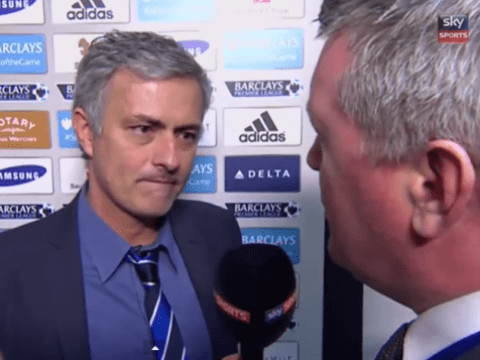 Jose Mourinho turns interview on its head by questioning Geoff Shreeves and Sky Sports' pundits