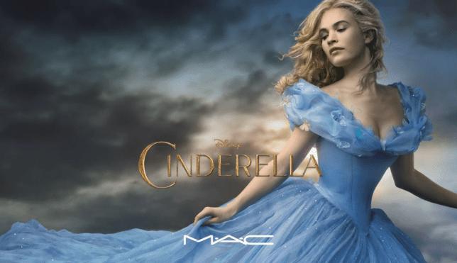 Cinderella from the new Disney movie