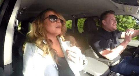 James Corden gives Mariah Carey a lift to The Late Late Show and it turns into epic carpool karaoke
