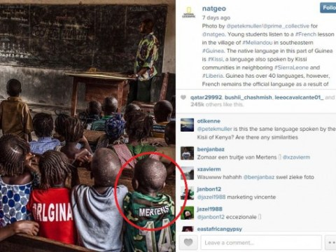 Belgium international Dries Mertens starts internet quest to give Guinean schoolboy his shirt