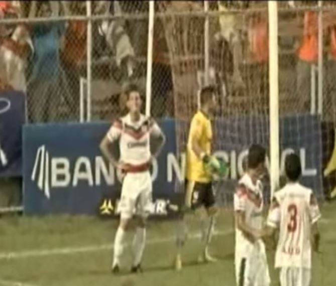 Most bizarre own goal ever? Costa Rican footballer heads into own goal – under no pressure