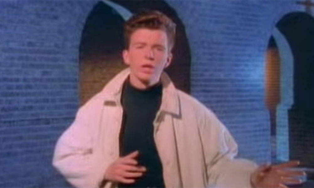 Could this be the end of Rickrolling? Rick Astley's Never Gonna Give You Up has been given a musicless makeover