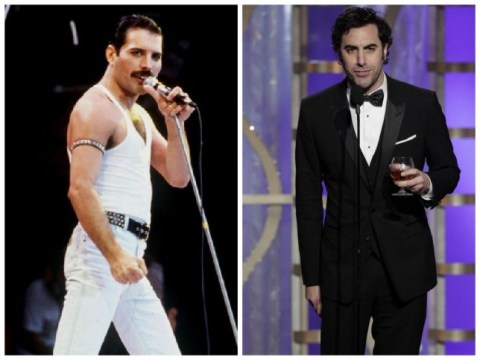 Great success: Sacha Baron Cohen WILL play Freddie Mercury in new Queen biopic