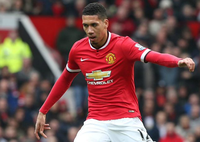 Chris Smalling's made a surprising claim about the Manchester United squad (Picture:Getty)
