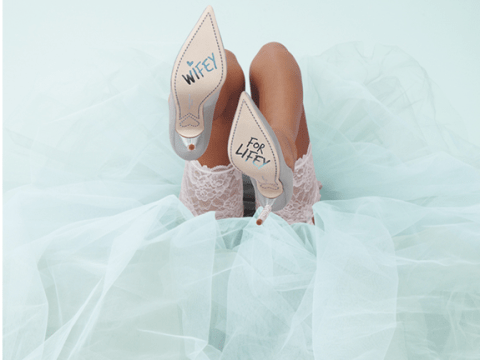 Sophia Webster's new bridal shoes make us want to get married immediately