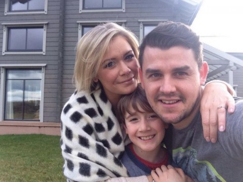 Suzanne Shaw takes on Tom Fletcher and Giovanna Falcone with super cute baby reveal
