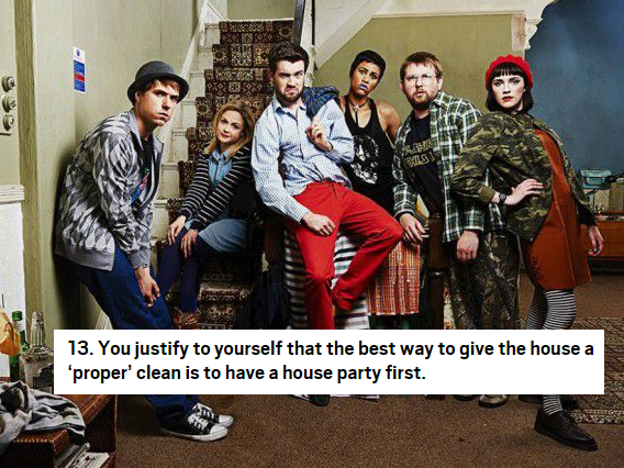 30 things you'll only understand if you've lived in a house share