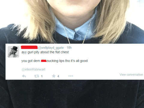 A reminder of what it's like to be a woman on the internet