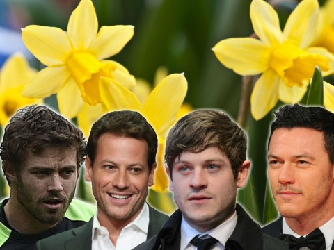 Happy St David's Day! The hottest Welsh male stars from Luke Evans to Leigh Halfpenny
