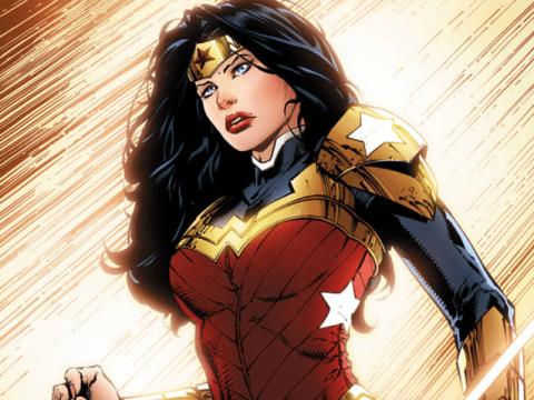 Wonder Woman has a new David Finch designed costume
