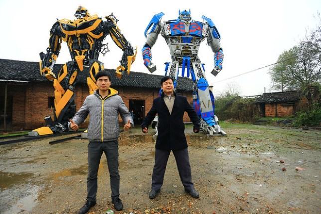 Yu Zhilin and his son Yu Lingyun 5