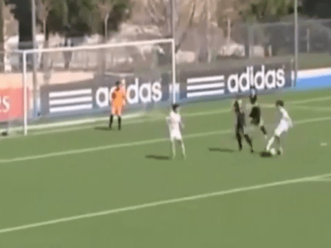 Zinedine Zidane's son show's he's a chip off the old block with stunning goal for Real Madrid