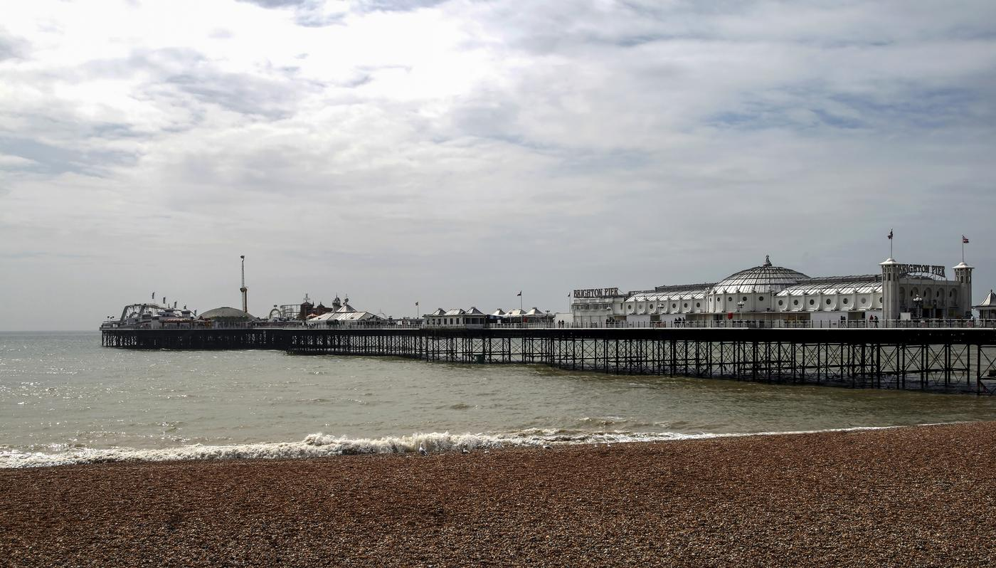 View towards Brighton pier George-Standen/George-Standen
