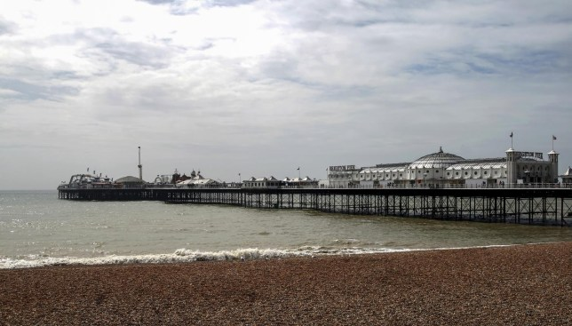 View towards Brighton pier George-Standen/George-Standen