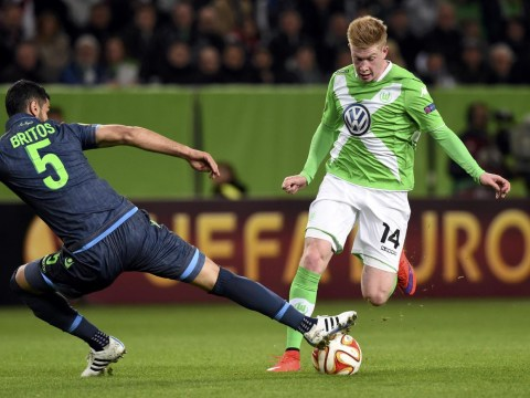 Wolfsburg confident Manchester City transfer target Kevin De Bruyne won't leave this summer