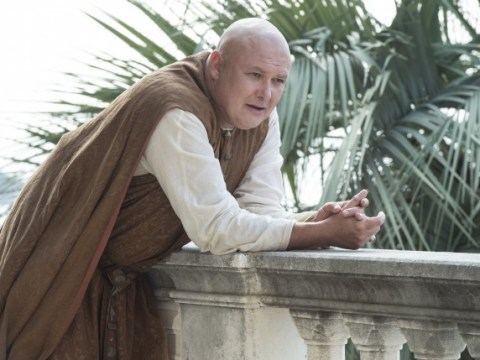 San Diego Comic Con: Varys from Game Of Thrones is a stone cold silver fox with hair