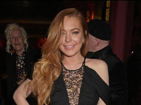 Lindsay Lohan agrees to turn on Christmas lights in Kettering after slating town in EU referendum tweet