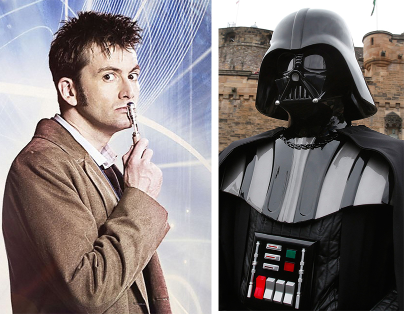 Doctor Who actors who felt the force in Star Wars