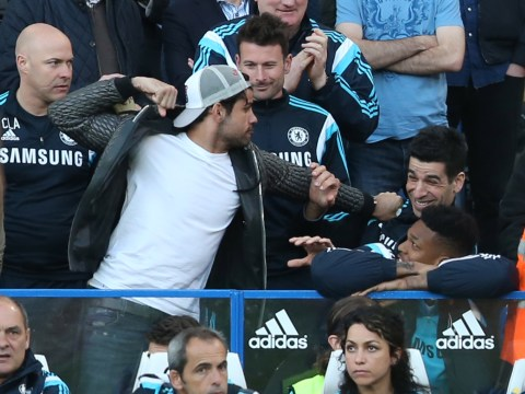 Diego Costa proves he's a joker by pretending to punch Chelsea physio during Manchester United win