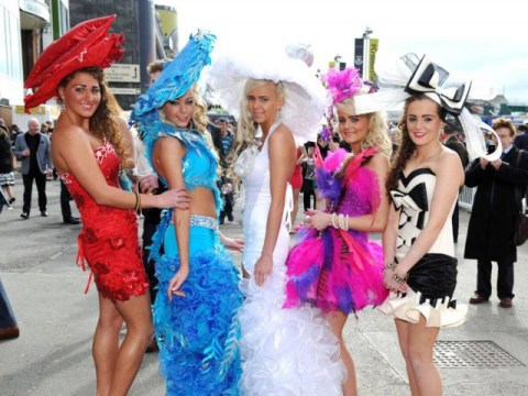 Never mind the wedding, it's My Big Fat Gypsy Grand National and these fillies mean business