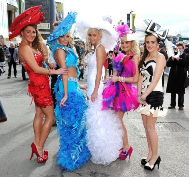 Big Fat Gypsy Wedding.It S My Big Fat Gypsy Grand National And These Fillies Mean Business