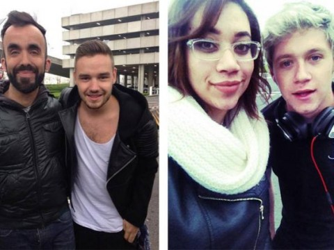 One Direction's Liam Payne and Niall Horan bombarded by fans as they arrive in London 'to meet up with Zayn Malik'