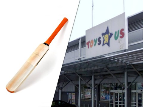 Man 'crashes car, gets naked and rampages through Toys R Us with cricket bat'