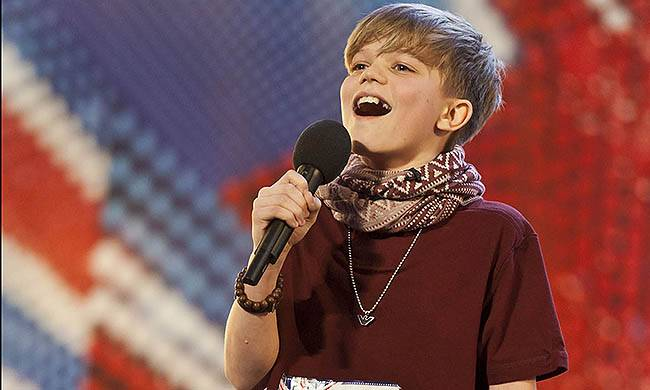 Television Programme: BRITAIN'S GOT TALENT with Ronan Parke.nnnTHIS IMAGE IS STRICTLY EMBARGOED FOR USE UNTIL 9PM (21.00 HRS) BRITAIN'S GOT TALENTSUNDAY 29TH MAY 2011.nA talkbackTHAMES/Syco production for ITVn on Sunday 29th May on ITV1 & ITV2nnPicture Caption: ITV s hit entertainment show Britain s Got Talent returns for a fifth year following the success of the last series, which saw gymnastics troupe Spelbound crowned the 2010 winners.n nHosted by Ant and Dec, this series will see comedian Michael McIntyre and actor/television personality David Hasselhoff join Amanda Holden on a new-look judging panel.n nFor further information, please contact: Emily Page - 020 7157 3034 / emily.page@itv.comnSource: DigitalnCOPYRIGHT: ITV