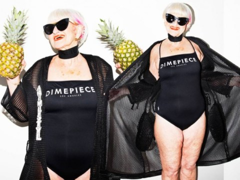 Instagram's coolest gran posed for a swimwear campaign – and the results are epic