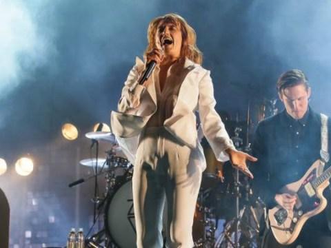 Florence Welch: I'm determined to make Glastonbury 2015 despite broken foot