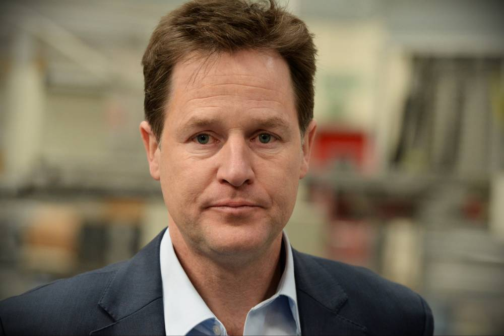 Nick Clegg says leaving Europe could break up the UK
