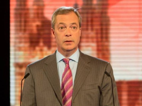 Nigel Farage actually turned on the audience during live leaders' debate