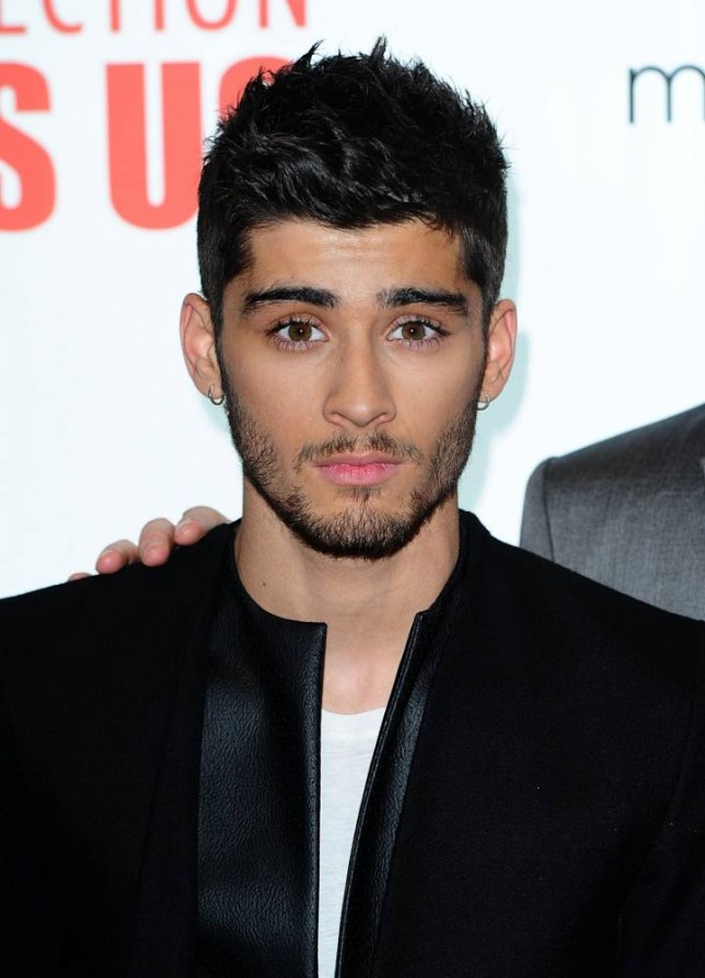 """File photo dated 20/08/13 of Zayn Malik, who is taking a step in a new direction tonight, as he makes his first solo appearance since quitting One Direction at the Annual Asian Awards in London. PRESS ASSOCIATION Photo. Issue date: Friday April 17, 2015. The 22-year-old singer - who announced last month he was leaving the boyband to live a """"normal life"""" - will walk the red carpet at a ceremony at the Grosvenor House Hotel on Park Lane. See PA story SHOWBIZ Malik. Photo credit should read: Ian West/PA Wire"""